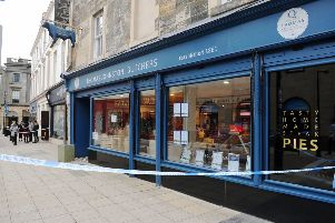 Thomas Johnston Butchers in Falkirk was broken into overnight