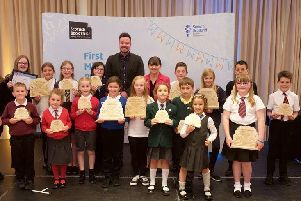 Two schools from Falkirk area, Westquarter Primary and Bo'ness Public Primary, were among the winners of the First Minister's Reading Challenge awards