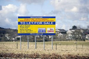 The proposed site on the outskirts of Polmont. Pic: Michael Gillen.