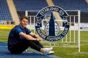 Charlie Telfer has signed a two year deal at Falkirk. Picture: Scott Louden.