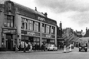 Bishop's department store in Falkirk town centre opened a hairdressers which catered for both men and women.