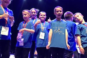 Dunipace Cubs and Scouts saw success whilst singing at Dundee.