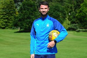 Mark Durnan has joined the Bairns today. Picture: Michael Gillen