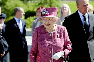 HM The Queen visited Falkirk in July 2017 when she toured the Kelpies