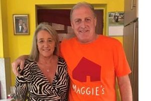 Claire and Cammy Shanks who raised �10,850 for Maggie's Forth Valley