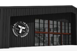 How the new Tempest Brewing Co building would look.
