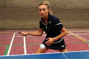 Lara heading to India for table tennis Commonwealth Championships. (picture: Michael Gillen)