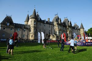Sprint Orienteering event in Callendar Park on Friday, June 28, live on the Adventure Show on BBC Scotland. Pictures by Michael Gillen.