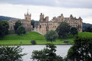 Stock photo of Linlithgow Palace.