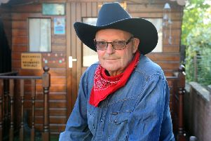 In the limelight...Ian Gardiner (71) is one of the original BA Cowboys who will feature in a BBC Scotland documentary later this year. (Pic: Michael Gillen)