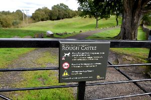 The wider area plays host to many reminders of the transient greatness of the Roman Empire in what is now Scotland - like the remains of Rough Castle fort.