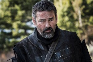 Angus Macfadyen as Robert the Bruce.