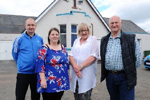(From left) John and Tracie Campbell, management committee members; Jean Tait, trustee and conveyor; and Bob Smith, trustee and treasurer. Picture: Michael Gillen