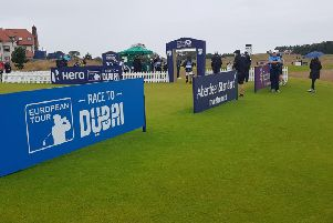 Scottish Open golf