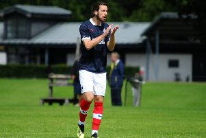 New Falkirk FC Club Captain Gregor Buchanan