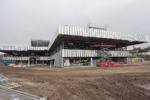 The �32m Jedburgh Grammar Campus is due to open in spring 2020.