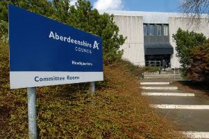 The nursery is operated by Aberdeenshire Council