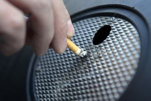 Data shows 16.9 per cent of people in the Falkirk Council area smoke, and  18.3 per cent of people in West Lothian.