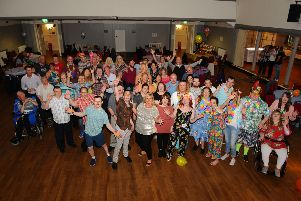 Dates-n-mates Falkirk summer party in Grangemouth Town Hall. Pictures by Michael Gillen.