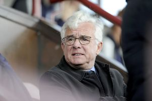 Martin Ritchie has spent more than two decades in the Bairns boardroom. Picture Michael Gillen.