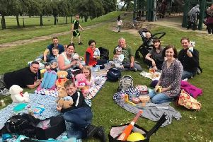 Family fun...is at the heart of everything Forth Valley T1D Families does, helping to normalise the condition for children who have been diagnosed, their siblings and parents. Here, members enjoy a teddy bears' picnic in Stirling.