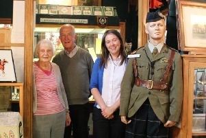 Aileen Campbell MSP on Douglas Museum tour Aug 2019