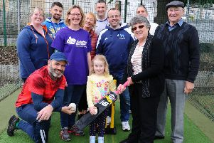 Alzheimer Scotland has teamed up with cricket club members to launch a groundbreaking dementia-friendly scheme.