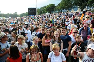Day one of Party at The Palace 2019 in Linlithgow on Saturday, August 10. Picture by Michael Gillen.