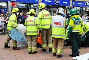 Emergency Services Day 2019 on Falkirk High Street, Wednesday, August 14. Picture by Michael Gillen.
