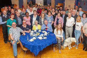 Private viewing...in Falkirk Town Hall in June was attended by some 60 participants. (Pic: Whyler Photos of Stirling)