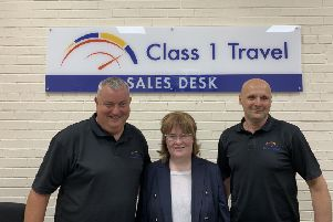 Scottish singing sensation Susan Boyle has hired Larbert's Class 1 Travel for her upcoming UK and USA tours