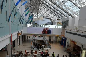 The St Enoch Centre in Glasgow.