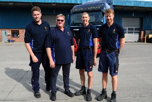 From left: Conor Smith, Russell Smith, Andrew Smith and Jordan Smith, of James Smith (Denny) Ltd