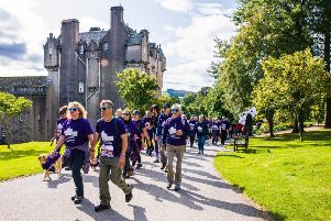 The CLAN Walk at Crathes Castle took place in glorious sunshine