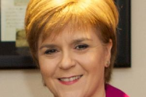 The First Minister paid a visit to Peterhead Academy which is set to benefit from the funding