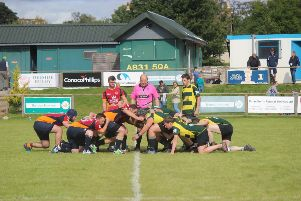 Deeside 41 Huntly 22 in Caley Regional Bowl