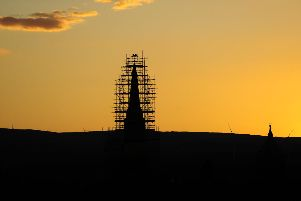 The Falkirk Steeple was restored as part of the �5.6m Townscape Heritage Initiative. Pic: Michael Gillen.