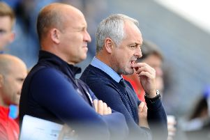 Ray McKinnon and his management team are looking to be top by Christmas. Picture: Michael Gillen