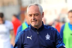 Falkirk manager Ray McKinnon. Pic: Fife Photo Agency