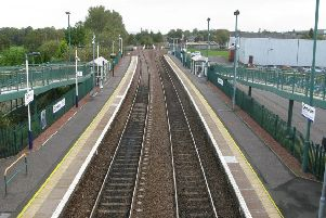 Camelon railway station. Picture: ScotRail