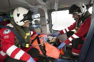 Scotland's Charity Air Ambulance (SCAA) is said to have gained �100,000 in support from its partnership with Edinburgh Airport.