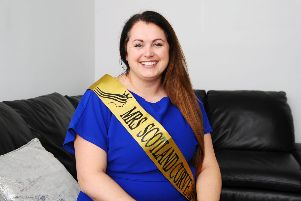 Siobhan Jack is competing as Mrs Scotland Curve. Picture by Michael Gillen