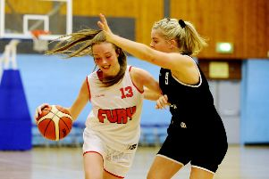 Abby Rutter was a key player for Fury. Picture by Alan Murray