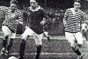Patsy Gallacher weighed just nine stone.