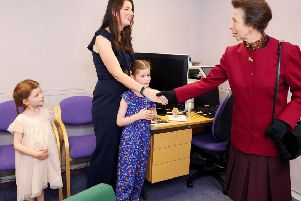 The grant to the Forth  Valley Sensory Centre in Camelon rounds off a memorable year - in September HRH The Princess Royal dropped by to open a new kitchen garden.