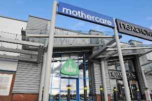 The Mothercare store in Falkirk Central Retail Park