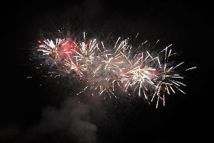 Annual fireworks display in Callendar Park, Falkirk on Tuesday, November 5.