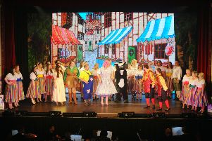 Larbert Amateur Operatic Society's Jack and the Beanstalk. Pic: Michael Gillen.