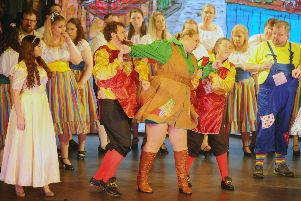 Larbert Operatic's Jack and the Beanstalk.  Pic: Michael Gillen.