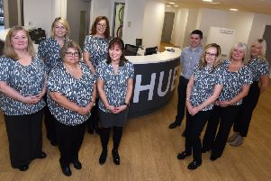 Falkirk Council staff - East, West and Central HUB teams